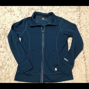 Women's Carhartt Force Extremes Full Zip SZ S 4/6